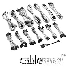 CableMod C-Series RMi / RMx Cable Kit White