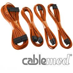 CableMod E-Series G2 & P2 Basic Cable Kit Orange