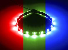 CableMod WideBeam Foam Adhesive LED Strip RGB Kit 30cm
