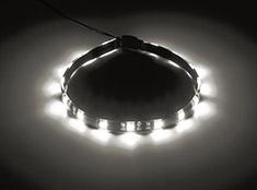 CableMod WideBeam Foam Adhesive LED Strip White 30cm