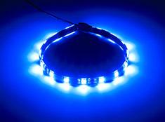 CableMod WideBeam Magnetic LED Strip Blue 30cm