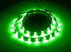 CableMod WideBeam Foam Adhesive LED Strip Green 60cm