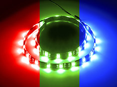 CableMod WideBeam Foam Adhesive LED Strip RGB Kit 60cm