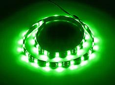 CableMod WideBeam Magnetic LED Strip Green 60cm