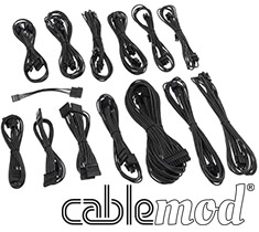 CableMod SE-Series KM3, XP2, XP3 & FL2 Cable Kit Black