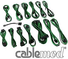 CableMod SE-Series KM3, XP2, XP3 & FL2 Cable Kit Black/Green