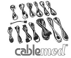 CableMod SE-Series KM3, XP2, XP3 & FL2 Cable Kit Black/White