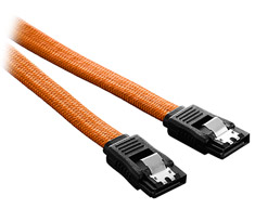 CableMod SATA3 Cable Orange