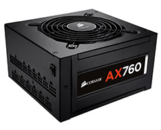 Corsair AX760 Platinum Modular 760W Power Supply