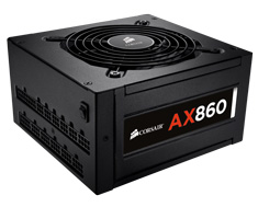 Corsair AX860 Platinum Modular 860W Power Supply