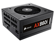 Corsair AX860i Platinum Power Supply