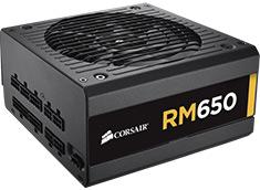 Corsair RM-650 80 Plus Gold Power Supply