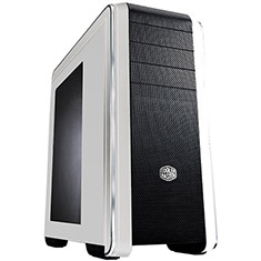 Cooler Master CM690 III Mid Tower Case with Window White