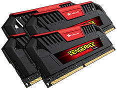 Corsair Vengeance Pro CMY32GX3M4A1600C9R 32GB (4x8GB) DDR3