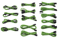 Corsair Gen2 Green Sleeved Modular Cable Kit