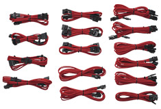 Corsair Gen2 Red Sleeved Modular Cable Kit