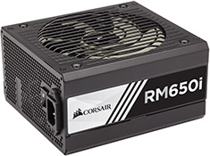 Corsair RM650i 650W 80 Plus Gold Power Supply