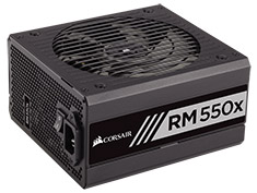Corsair RM550x 550W 80 Plus Gold Power Supply