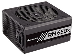 Corsair RM650x 650W 80 Plus Gold Power Supply