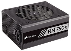 Corsair RM750x 750W 80 Plus Gold Power Supply