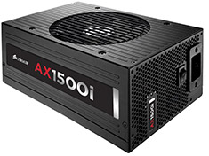 Corsair AX1500i Digital Titanium Modular 1500W Power Supply