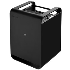 SilverStone CS01 Mini-ITX Case Black