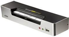 ATEN CS-1794 4 Port USB HDMI KVMP Switch with Audio & USB Hub