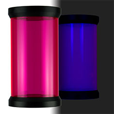 PrimoChill CTR Compression Tube Reservoir 120mm - UV Pink