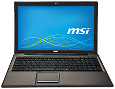 MSI CX61 15.6in Notebook [2PC-629AU]