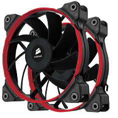 Corsair Air Series AF120 Quiet Edition Case Fan Twin Pack