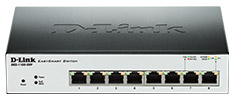 D-Link DGS-1100-08P 8 Port Gigabit Easysmart PoE Switch