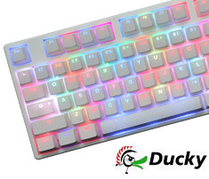 Ducky Year of the Goat RGB Mechanical Keyboard Cherry Brown