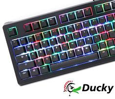 Ducky Shine 5 RGB Mechanical Keyboard Cherry Black