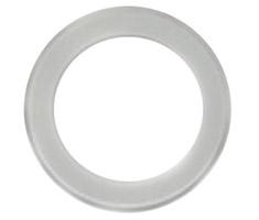 O-Lin LED Downlight Fascia - Flat Matte White