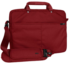 STM Slim 13in Laptop Shoulder Bag Berry