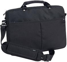 STM Slim 11in Laptop Shoulder Bag Black