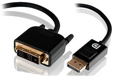 Alogic DisplayPort to DVI-D Cable Male to Male 2m