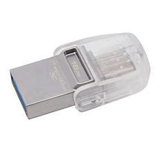 Kingston DataTraveler MicroDuo 3C 16GB USB 3.1 Flash Drive