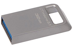 Kingston DataTraveler Micro USB 3.1 32GB Flash Drive