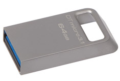 Kingston DataTraveler Micro USB 3.1 64GB Flash Drive