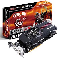 ASUS Radeon 6870 1GB DirectCU