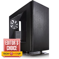 Fractal Design Define S Mid Tower Case with Window Black