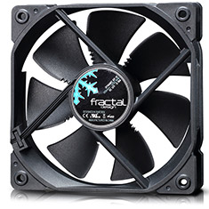 Fractal Design Dynamic GP-12 120mm Black Fan