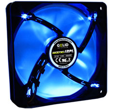 GELID Wing 12 120mm PWM Blue LED Fan