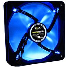 GELID Wing 12 120mm PWM Blue LED Fan