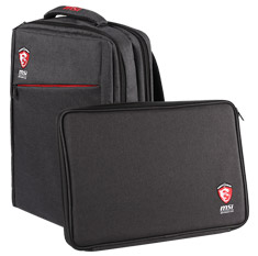 MSI Adeona Notebook Backpack and Sleeve