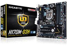 Gigabyte H170M-D3H Motherboard