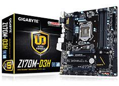 Gigabyte Z170M-D3H Motherboard