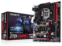 Gigabyte Z170X Gaming 3 Motherboard