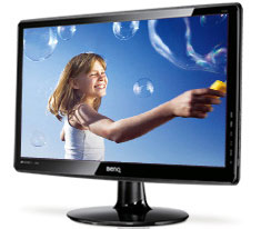 BenQ GL2440HM 24in Widescreen LED Monitor with Speakers